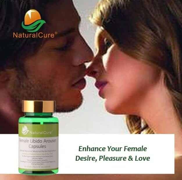 Natural Cure Female Libido: 50 Capsules – Enhance Drive and Lust Naturally