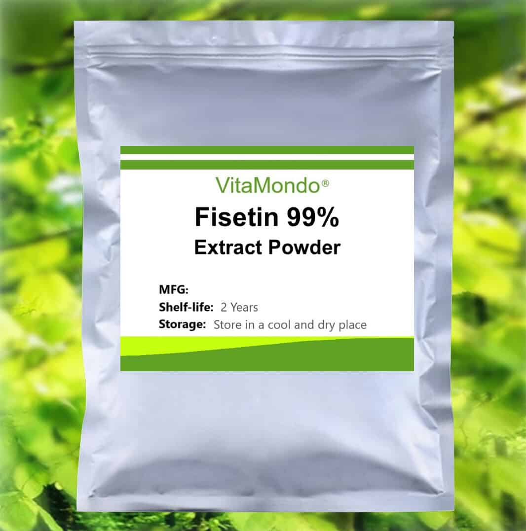 Fisetin Powder 99%: 100g-1kg – Antioxidant, Cognition, Health (COA-tested)